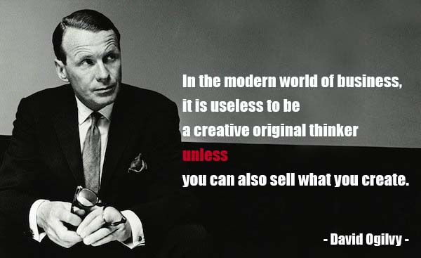 ogilvy on advertising: david ogilvy quotes