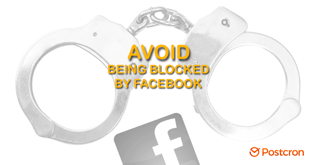 avoid being blocked by Facebook - Facebook Jail