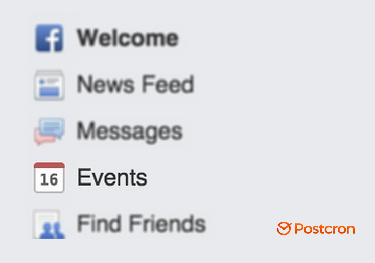 how to schedule posts on facebook event page