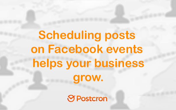 schedule posts on facebook events - event scheduling app