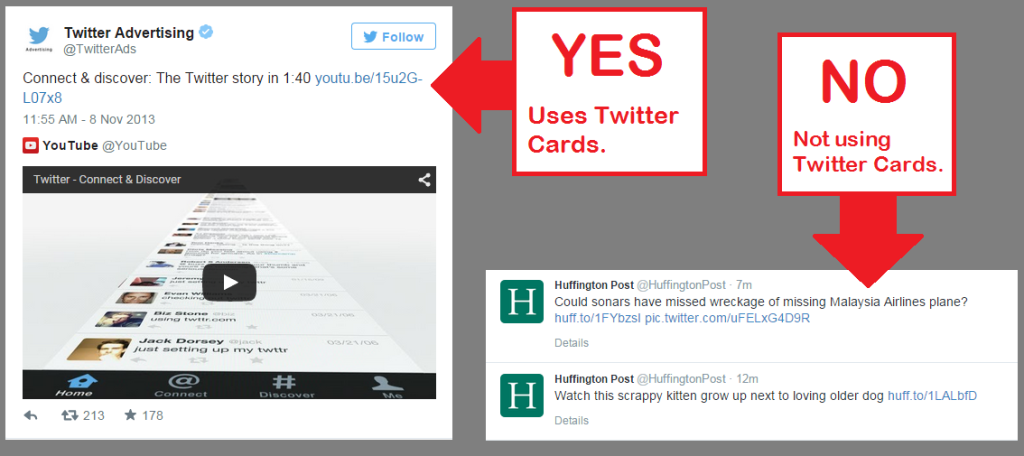 Twitter Cards - using and not using