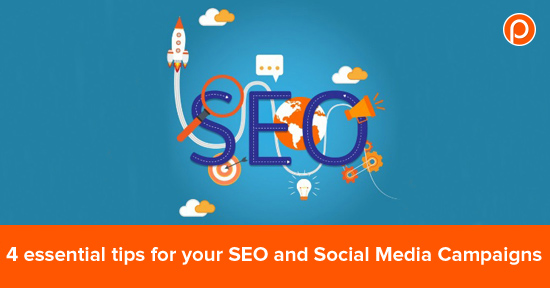 SEO and Social Media advices for your campaigns