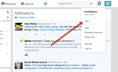 how to manage your twitter with lists