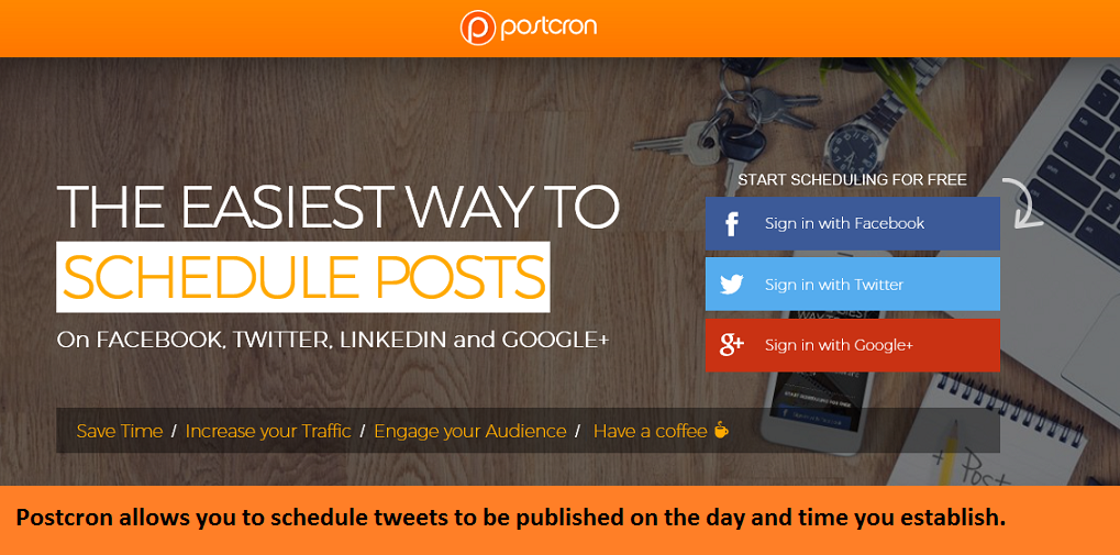 how to manage your twitter with Postcron