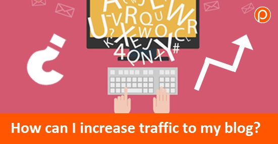 How can I increase traffic to my blog? cover