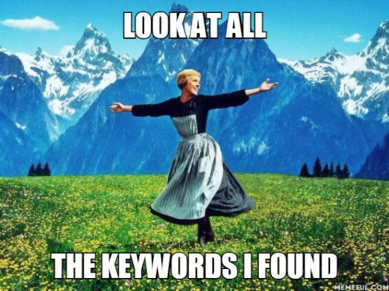 How can I increase traffic to my blog? keywords