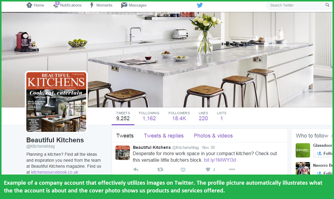 Grow your Twitter Followers Kitchens