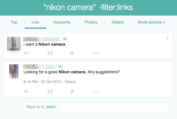 grow your twitter followers with filters
