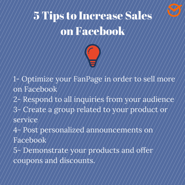 5 Tips to Increase Sales on Facebook