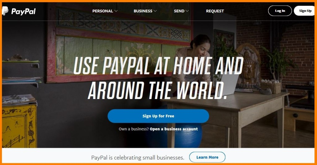 paypal more personal calls to action