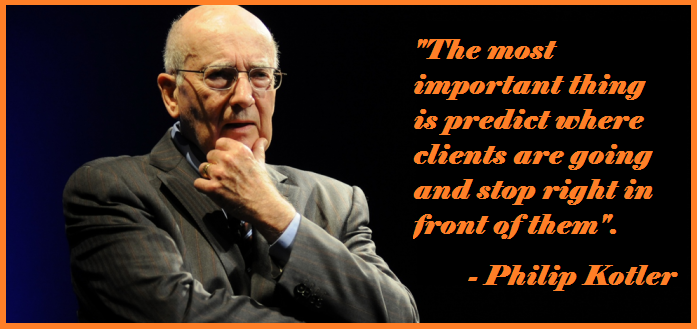 Philip Kotler client predictions