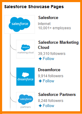 B2B marketing and B2C marketing salesforcepages