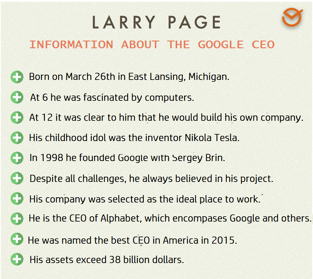google ceo info on larry page
