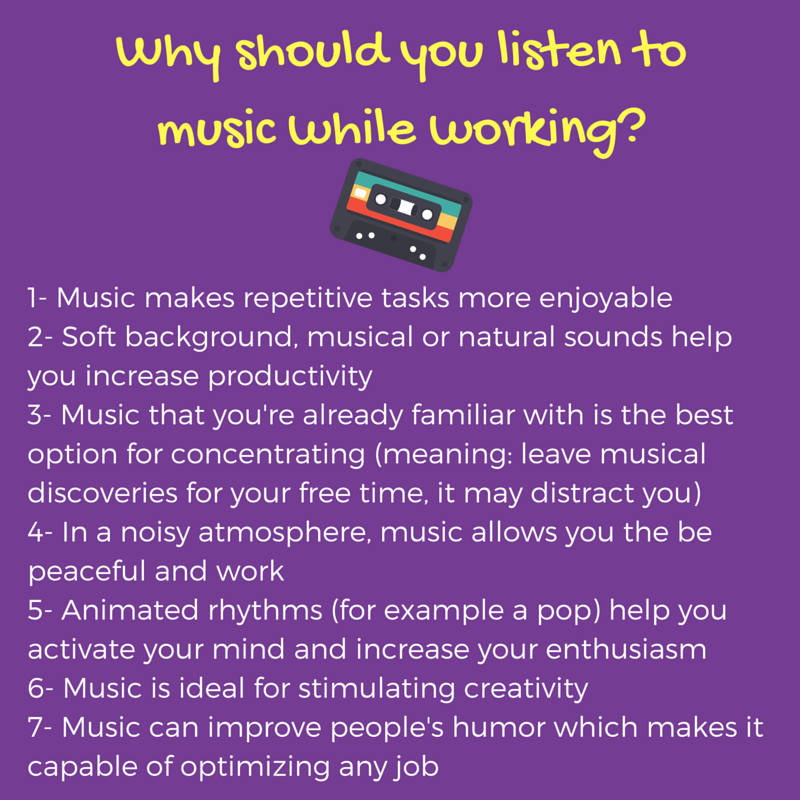 why you should listen Did you know music can do more than lift your spirits it can  they travelled 11 per cent further - compared to the days they didn't listen to music.