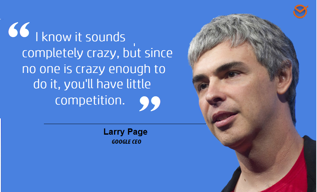 Google CEO Larry Page quote