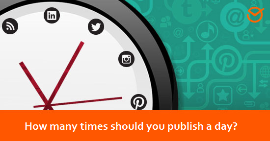 social network marketing how many times should you publish a day?