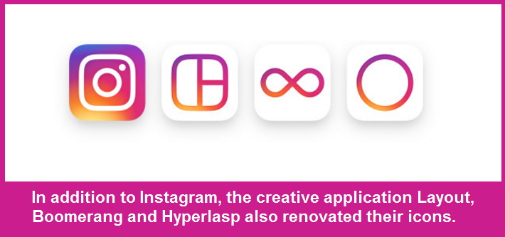instagram 2016 creative application logo changes