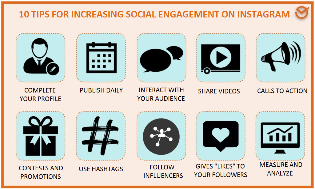 social engagement on Instagram 10 tips