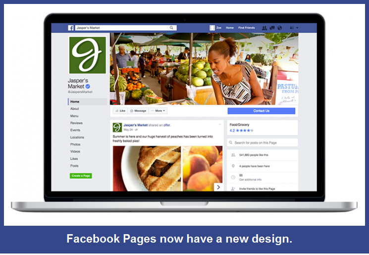 facebook ads pages design