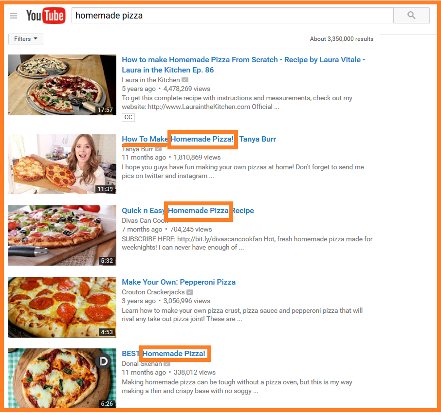 youtube seo good titles