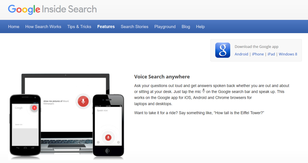 seo técnicas google dentro de búsqueda