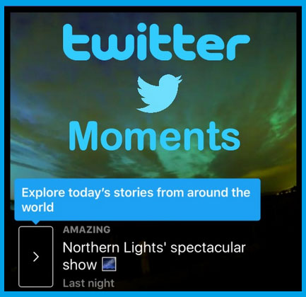 Learn how to use the Twitter´s Moments function, step by step!