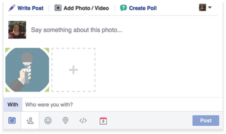 create posts for ypu facebook party