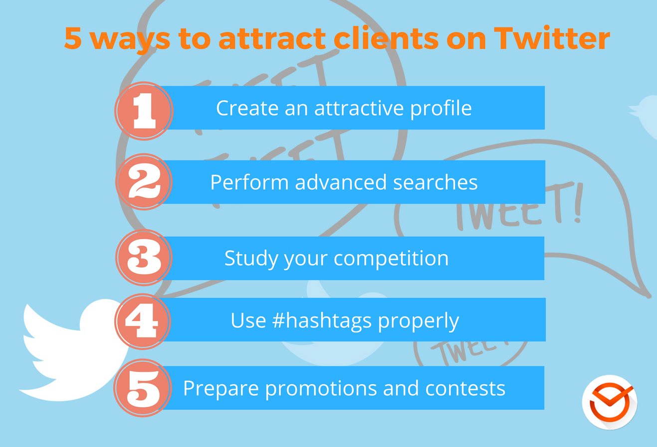 5 ways to attract clients on Twitter
