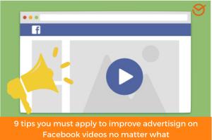 advertise on Facebook videos