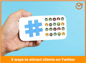 attract clients on Twitter