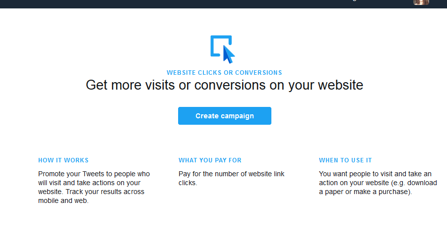 get more visits or conversions
