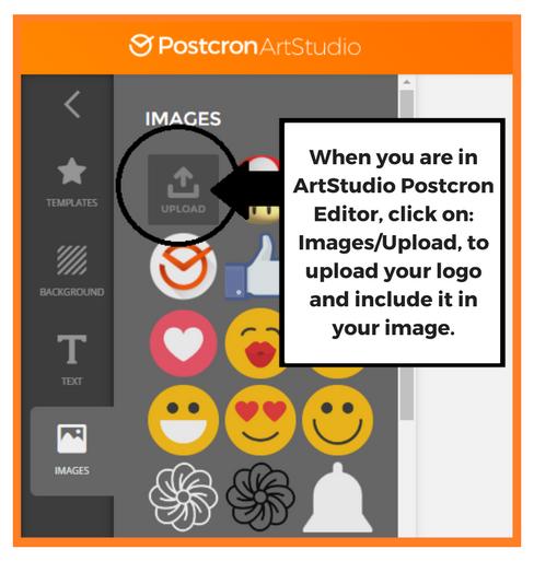 postcron upload logo
