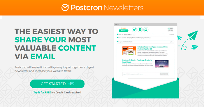 Newsletter Postcron - Email Sender