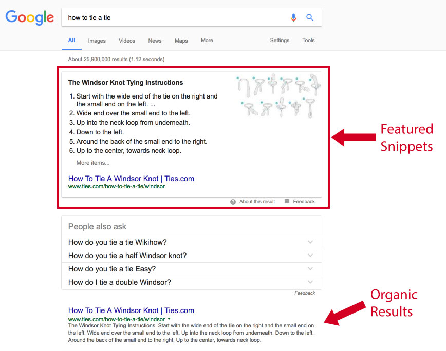 featured-snippets-vs-organic-results