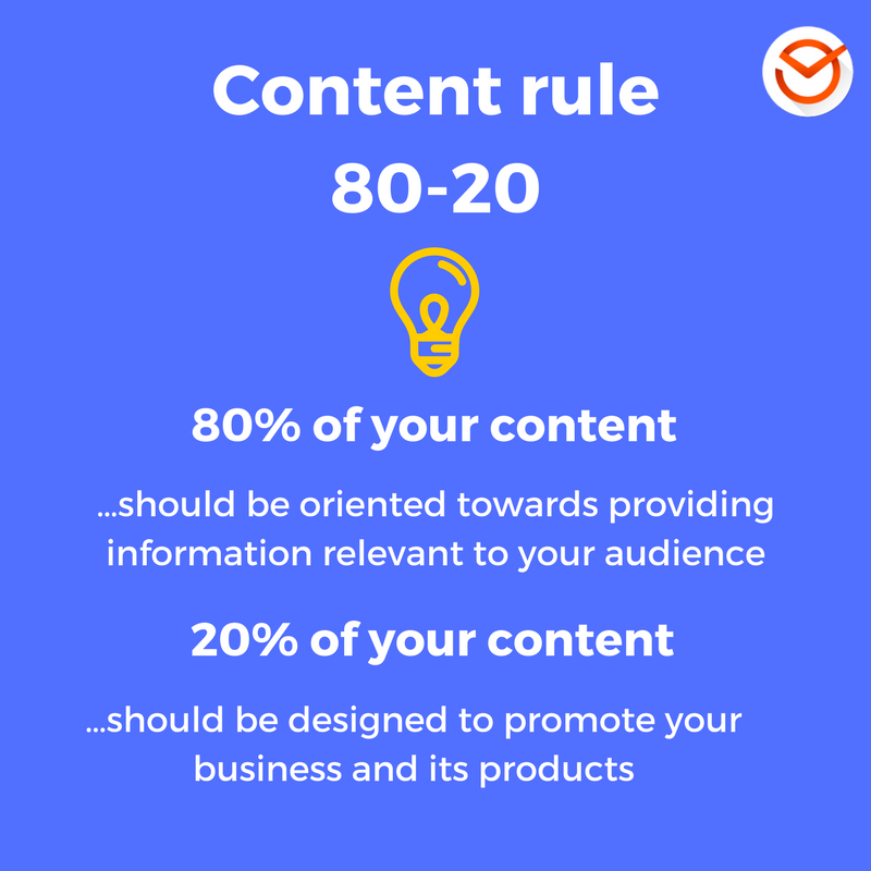 Content rule80-20
