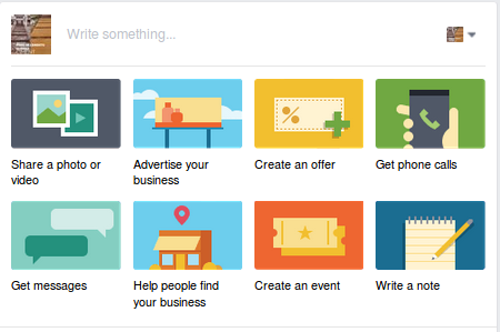Facebook offers several formats to choose from so you can promote your products.