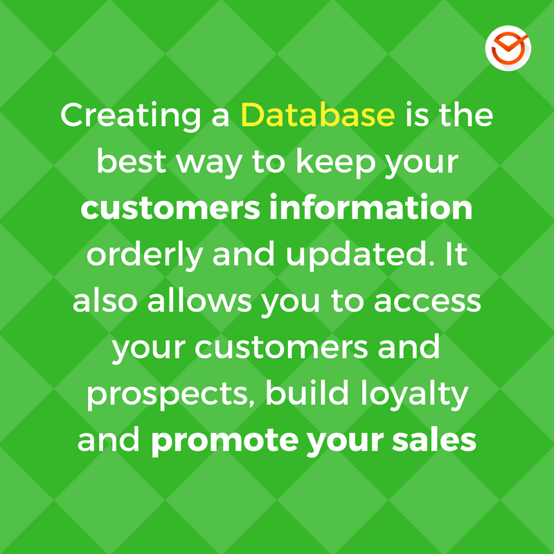 creating a customer database