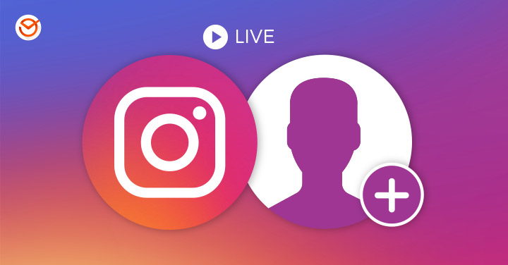 How to invite a friend to your live videos on Instagram?