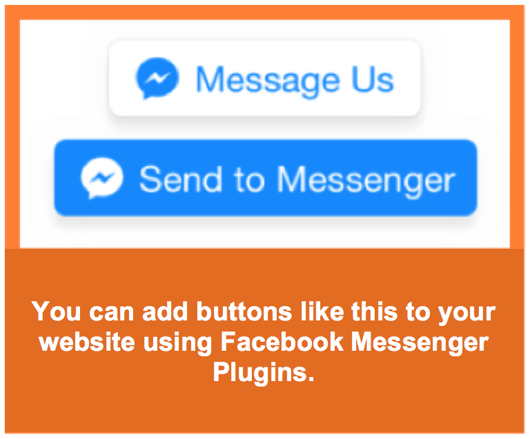 Facebook chatbot buttons