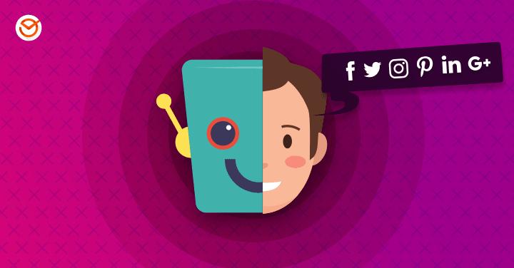 being social online