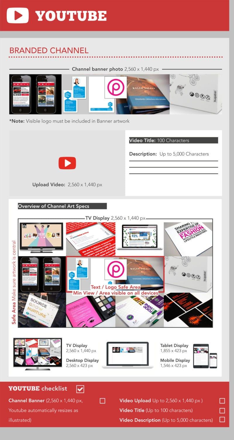 Youtube tamaños de imágenes - Postcron