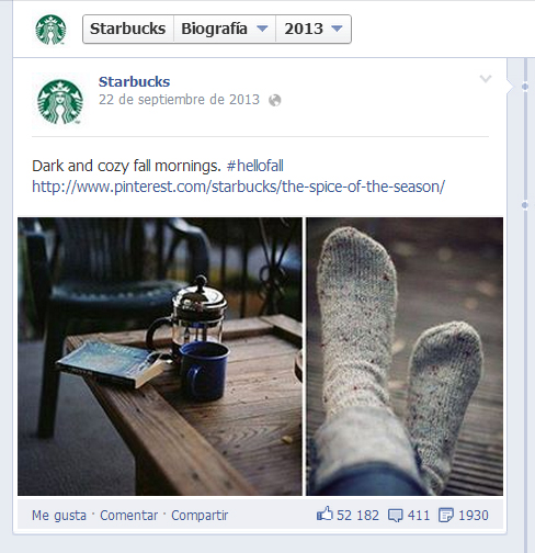 STARBUCKS FACEBOOK