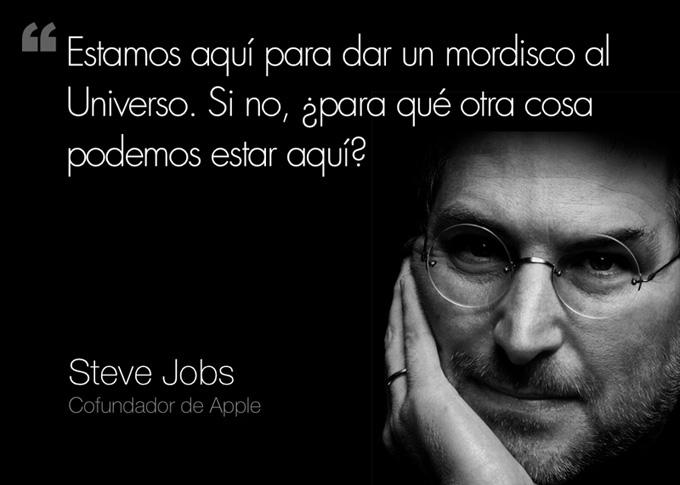 Steve-Jobs-frase-mordisco-universo