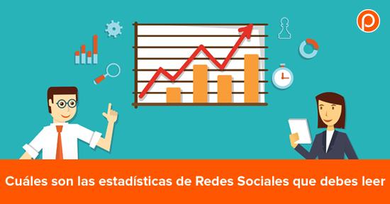 Cuáles estadísticas de Redes Sociales son las que importan
