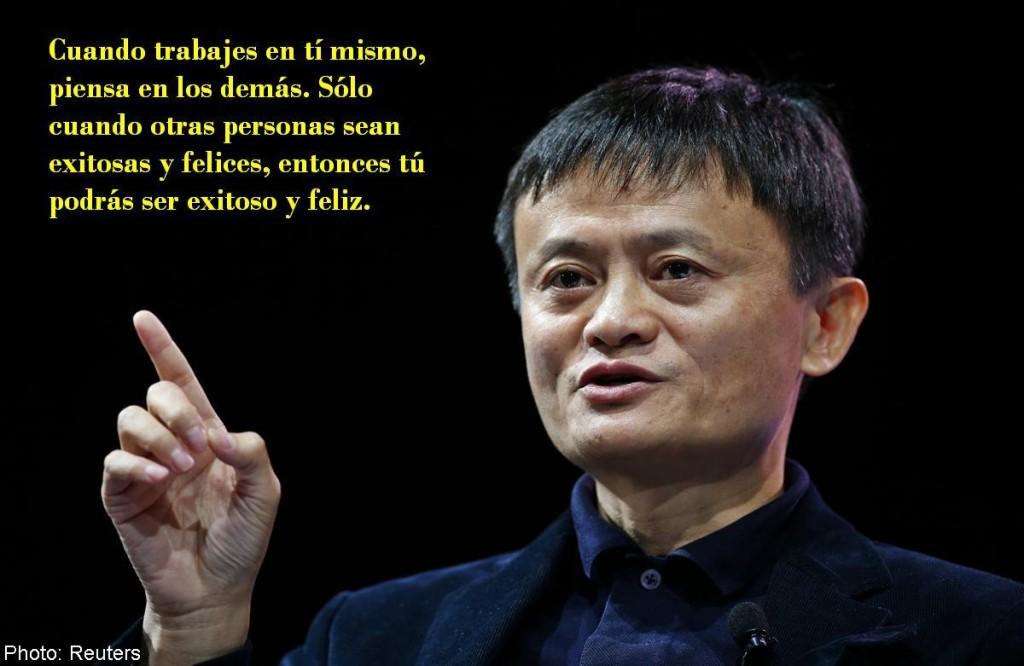 felicidad Jack Ma