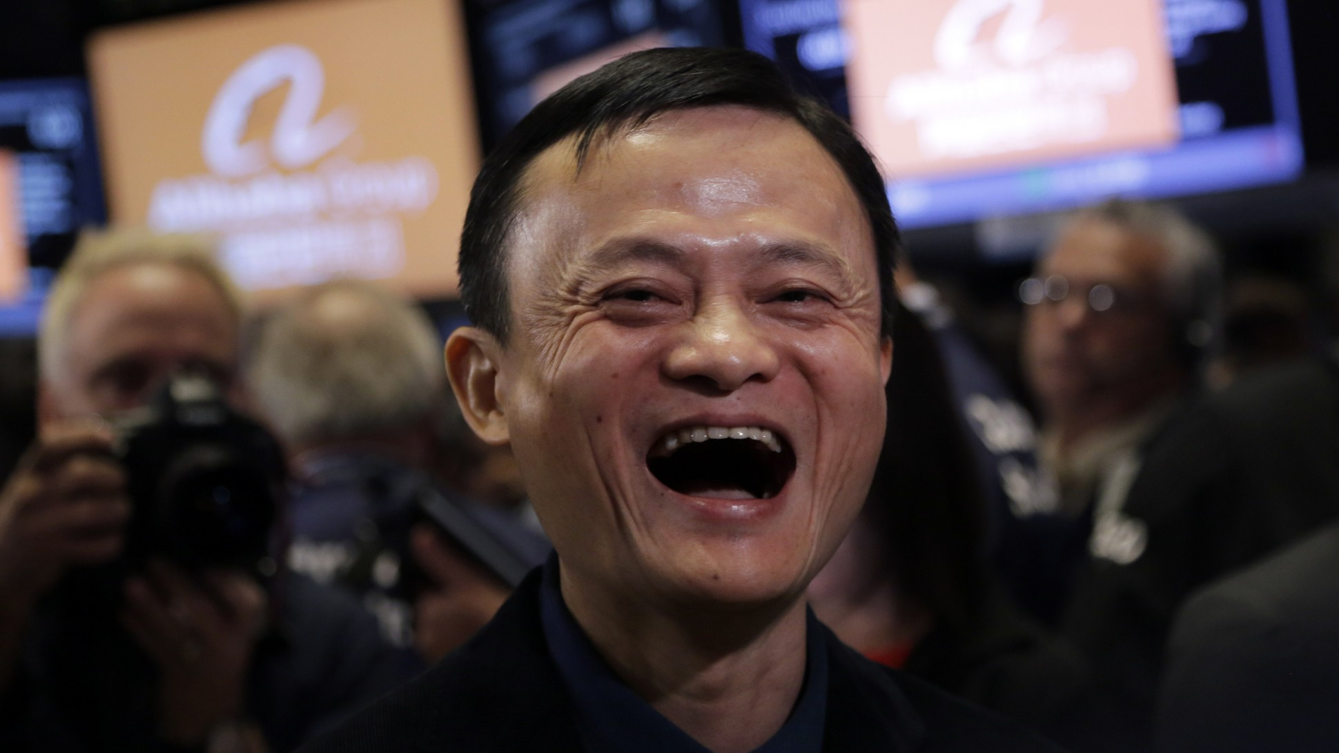 Image result for jack ma happy