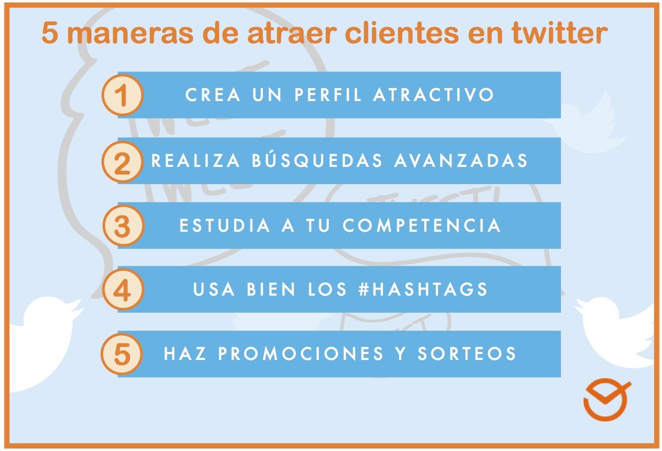 Atraer Clientes A Través De Twitter 5 Estrategias Infalibles