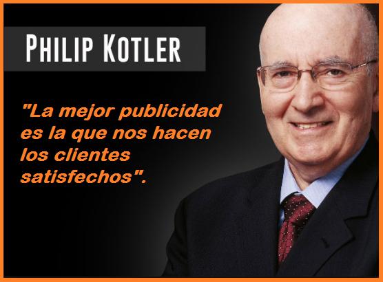 Resultado de imagen de el padre del marketing kotler