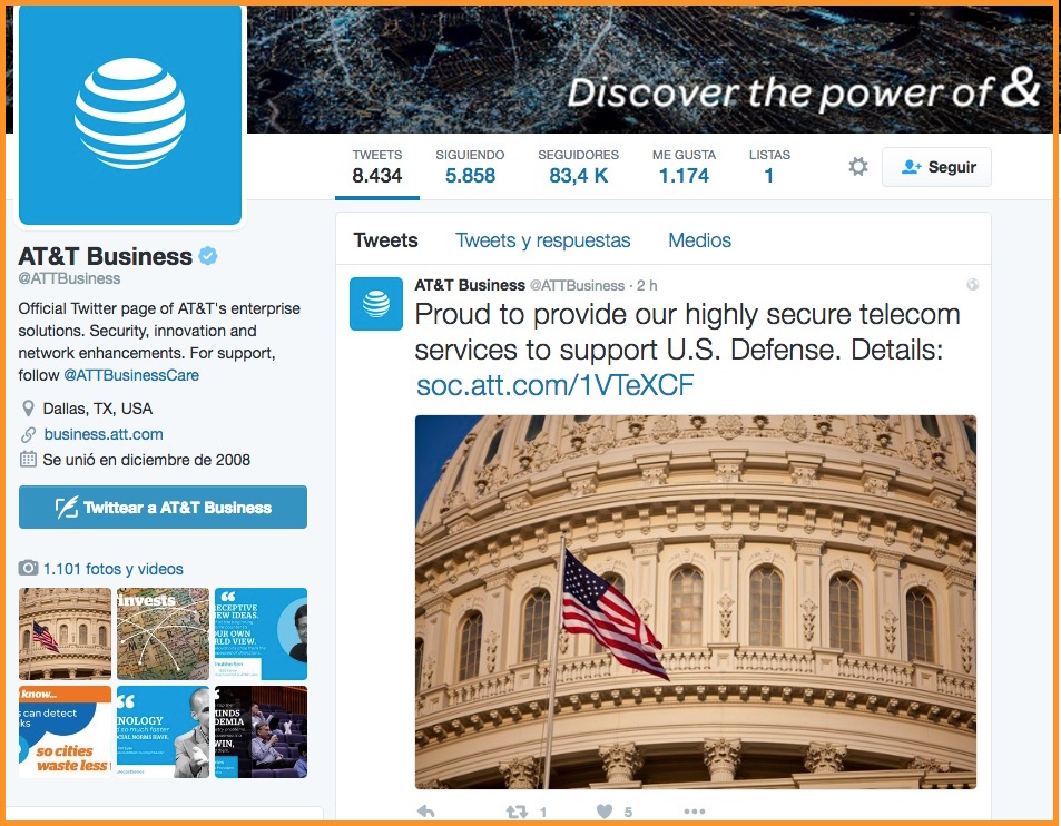 B2B marketing and B2C marketing AT&T Business