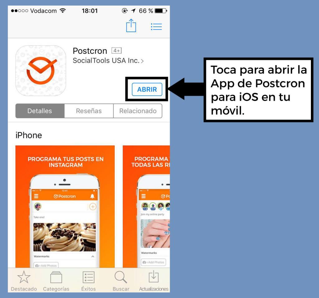 Postcron-para-iOS-Instalar